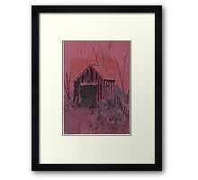 The Old Dirt Road Framed Print