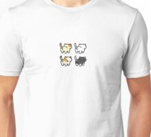 Neko Atsume - Butts Unisex T-Shirt