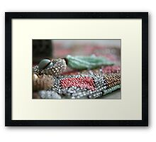 Intricate...... Framed Print