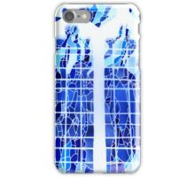 Blue Ice Stained Glass iPhone Case/Skin
