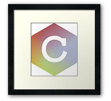 C language Framed Print