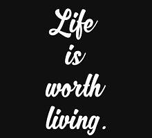 Life Is Worth Living - Justin Bieber - Purpose Unisex T-Shirt