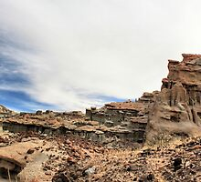Red Rock Canyon-Nightmare Gulch by Rosalee Lustig