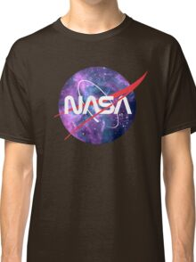 NASA Retro Nebula Logo Classic T-Shirt