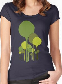 Green Palette Women's Fitted Scoop T-Shirt