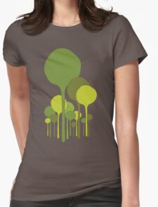 Green Palette Womens Fitted T-Shirt
