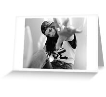 Kendall Jenner Reach Greeting Card