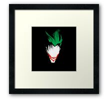 Joker Art Framed Print