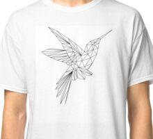 Hummingbird Polygon Art Classic T-Shirt