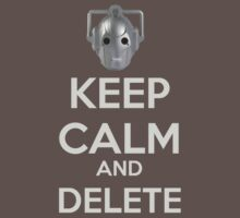 Keep Calm And Delete  by Winkham