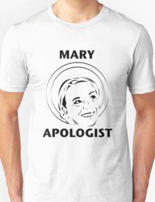 Mary Apologist (w/ halo) Unisex T-Shirt