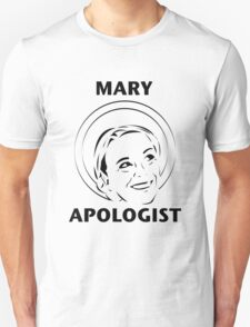 Mary Apologist (w/ halo) T-Shirt