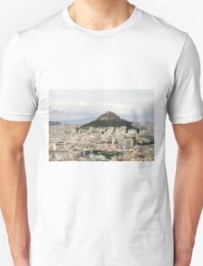 Greece, Athens, view of the city from Acropolis Hill T-Shirt