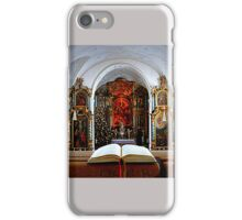 Praying for PEACE, HEALTH, LOVE & FORGIVENESS iPhone Case/Skin