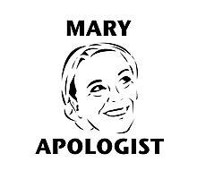 Mary Apologist (w/o halo) Photographic Print