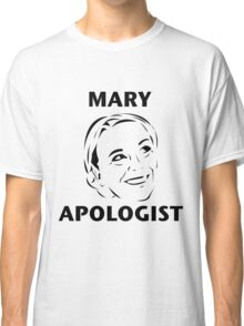Mary Apologist (w/o halo) Classic T-Shirt