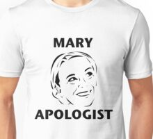 Mary Apologist (w/o halo) Unisex T-Shirt