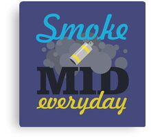 Smoke Mid Everyday Canvas Print