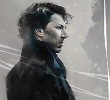 Sherlock Artwork by Marcuccio