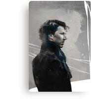 Sherlock Artwork Canvas Print