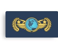 Global Elite Emblem V2 Canvas Print