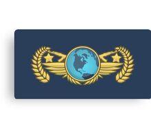 Global Elite Emblem V2 Canvas Print