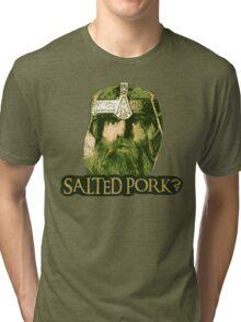 Salted Pork Tri-blend T-Shirt