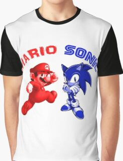 Mario & Sonic, 90's best friends Graphic T-Shirt