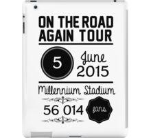5th june - Millennium Stadium OTRA iPad Case/Skin