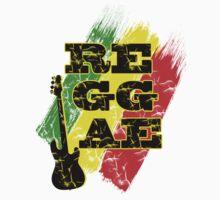 reggae, guitar Baby Tee