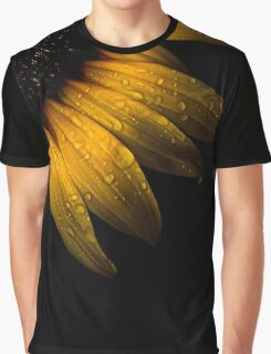 Backyard Flowers 28 Sunflower Graphic T-Shirt