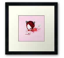 How to Be A CAT Framed Print