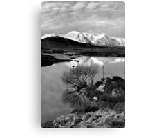 Across To The Mountains Canvas Print