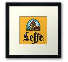 Leffe - Beer Framed Print