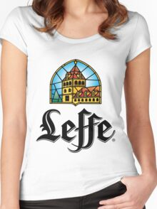 Leffe - Beer Women's Fitted Scoop T-Shirt