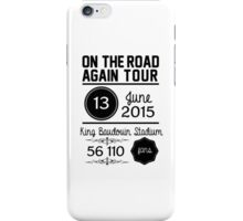 13th June - King Baudouin Stadium OTRA iPhone Case/Skin