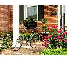 Augusta KY Bike Photographic Print