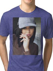Kylie Jenner Hat 2 Tri-blend T-Shirt