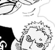 Luffy & Zoro - One Piece Sticker