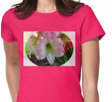 Amaryllis 1 Womens Fitted T-Shirt