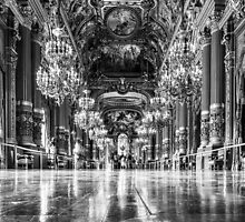 Opera House, Paris 7 by John Velocci