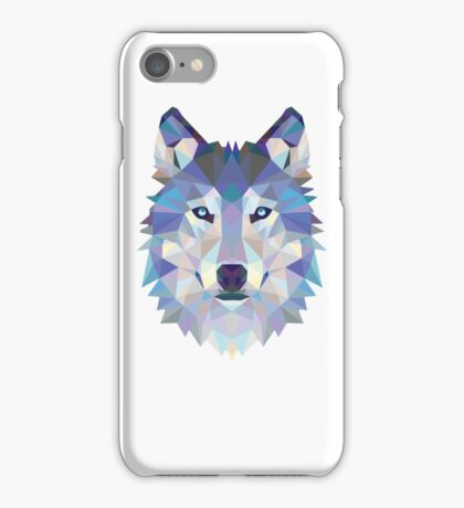 wolf smile iPhone Case/Skin