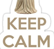 Keep Calm And Don't Blink Sticker
