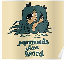 The Marvelous Misadventures of Flapjack Mermaids Are Weird Poster