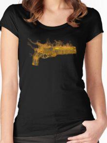 Golden Gun Women's Fitted Scoop T-Shirt