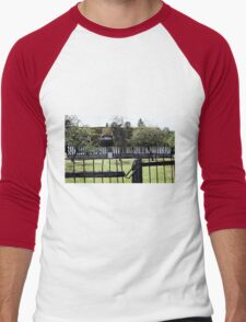 Paysages Normandie LOVE  landscapes 21 (c)(t) canon eos 5 by Olao-Olavia / Okaio Créations   1985 Men's Baseball ¾ T-Shirt