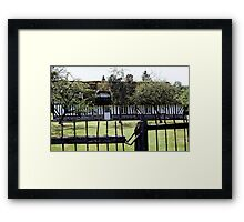 Paysages Normandie LOVE  landscapes 21 (c)(t) canon eos 5 by Olao-Olavia / Okaio Créations   1985 Framed Print