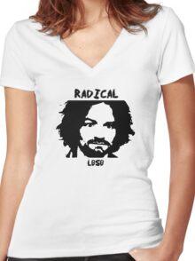 LBSB Radical Women's Fitted V-Neck T-Shirt