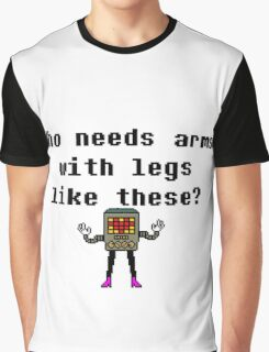 Who needs arms with legs like these? Undertale Graphic T-Shirt