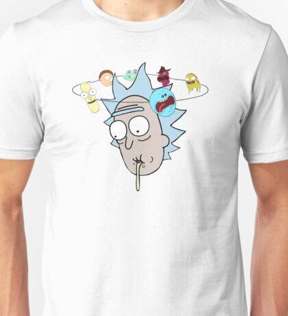 Rick Sanchez Confused/Dizzy Unisex T-Shirt